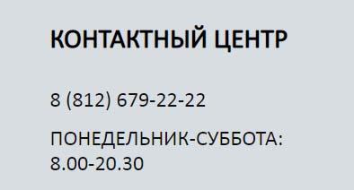 Контакты Петроэлектросбыт