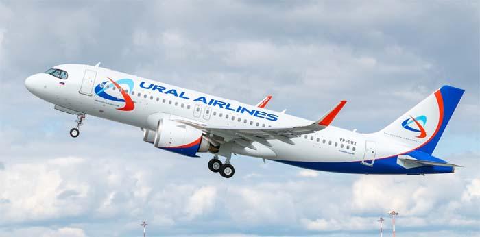 Самолет Уральских Авиалиний