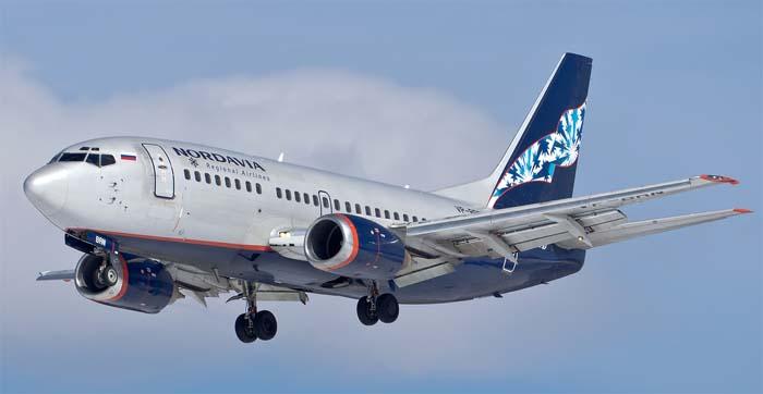 Самолет авиакомпании Нордавиа