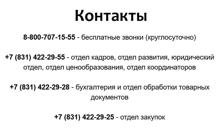 Контакты Бристоль