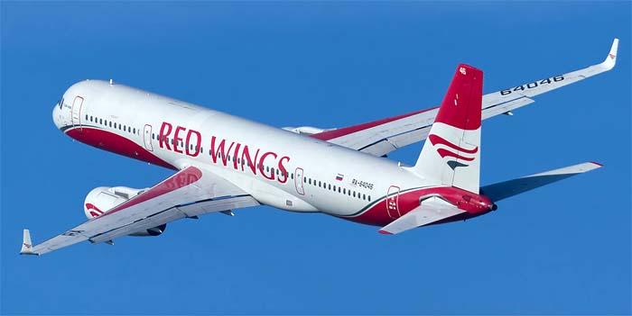 Самолет авиакомпании Red Wings