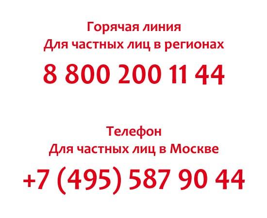 Контакты Траст Банка
