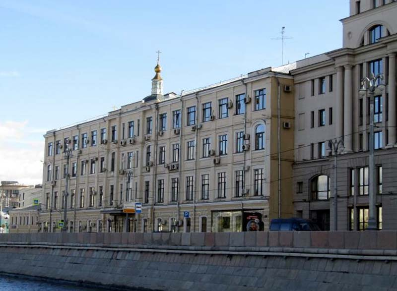 Здание ГУП «Мосгортранс»