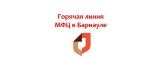 Горячая линия МФЦ в Барнауле