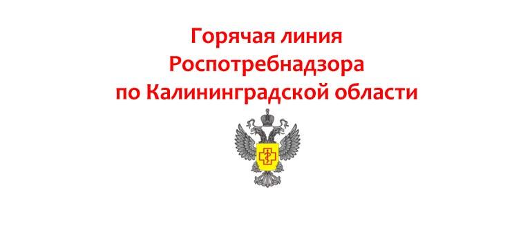 Горячая линия Роспотребнадзора по Калининградской области