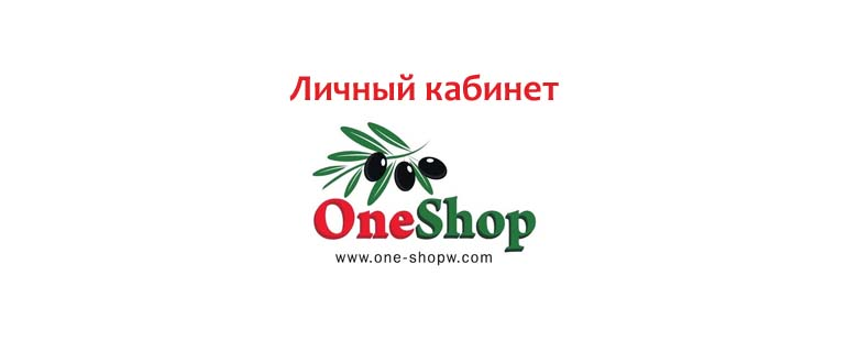Личный кабинет One Shop World