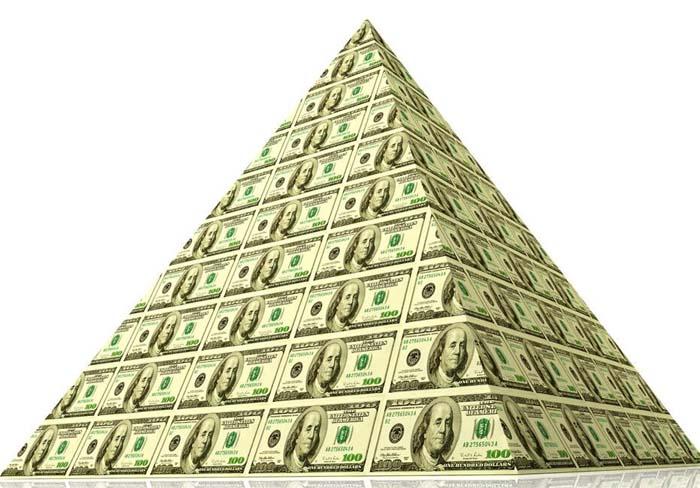 Строительство финансовых пирамид
